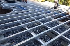 Bodenkonstruktion aus ALU
