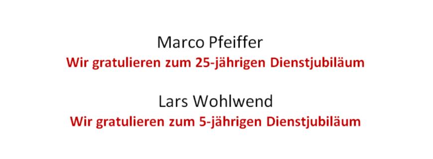 Firmenjubiläum – August 2018